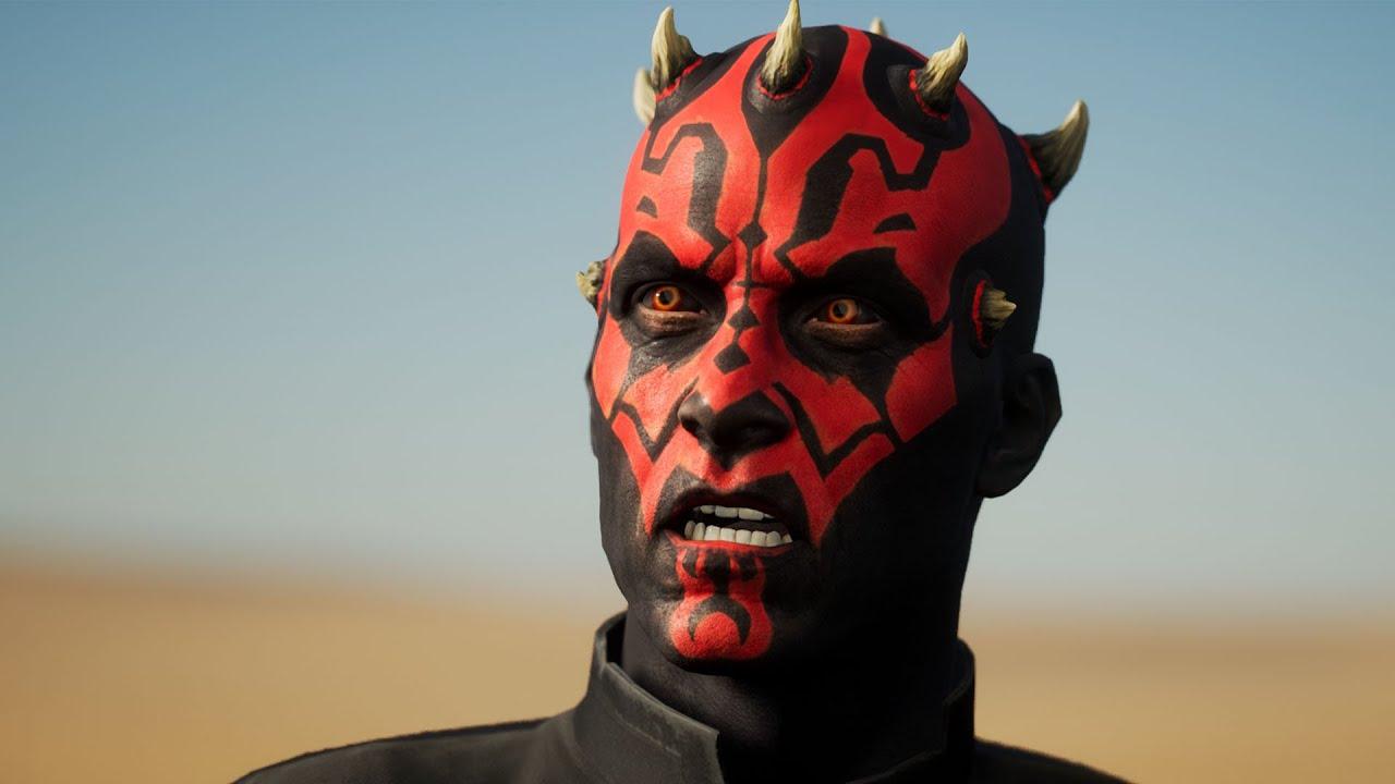 Star Wars Face Capture Testing