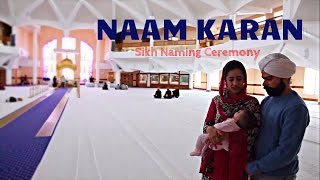 Naam Karan : Sikh Naming Ceremony / Naming Rites