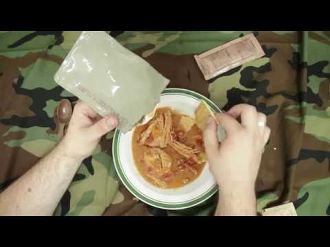 US Army MRE 5 review: Chicken with Tomatoes and Feta Cheese