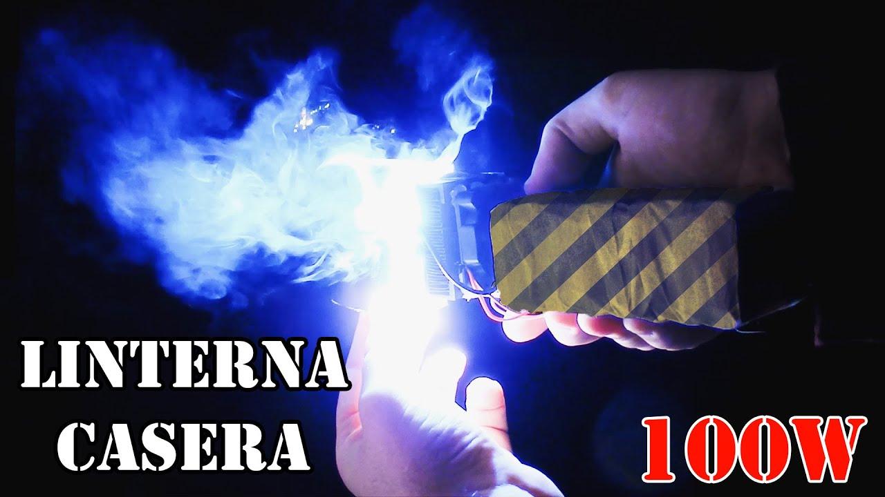 Como hacer ultra potente linterna de bolsillo for Linterna de led potente