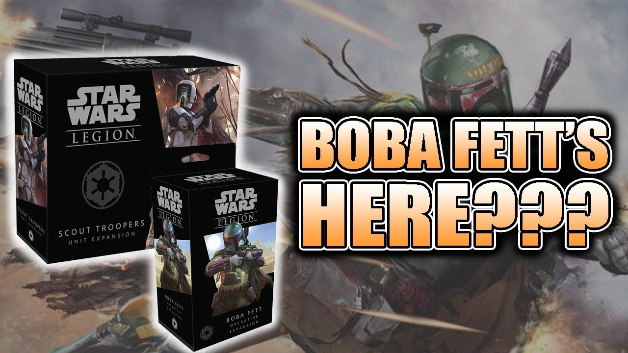Boba Fett Imperial Scouts Unboxing Build Star Wars Legion