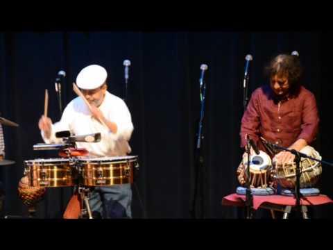 Benefit for Giovanni Hidalgo &  Zakir Hussain Percussion Dialogue