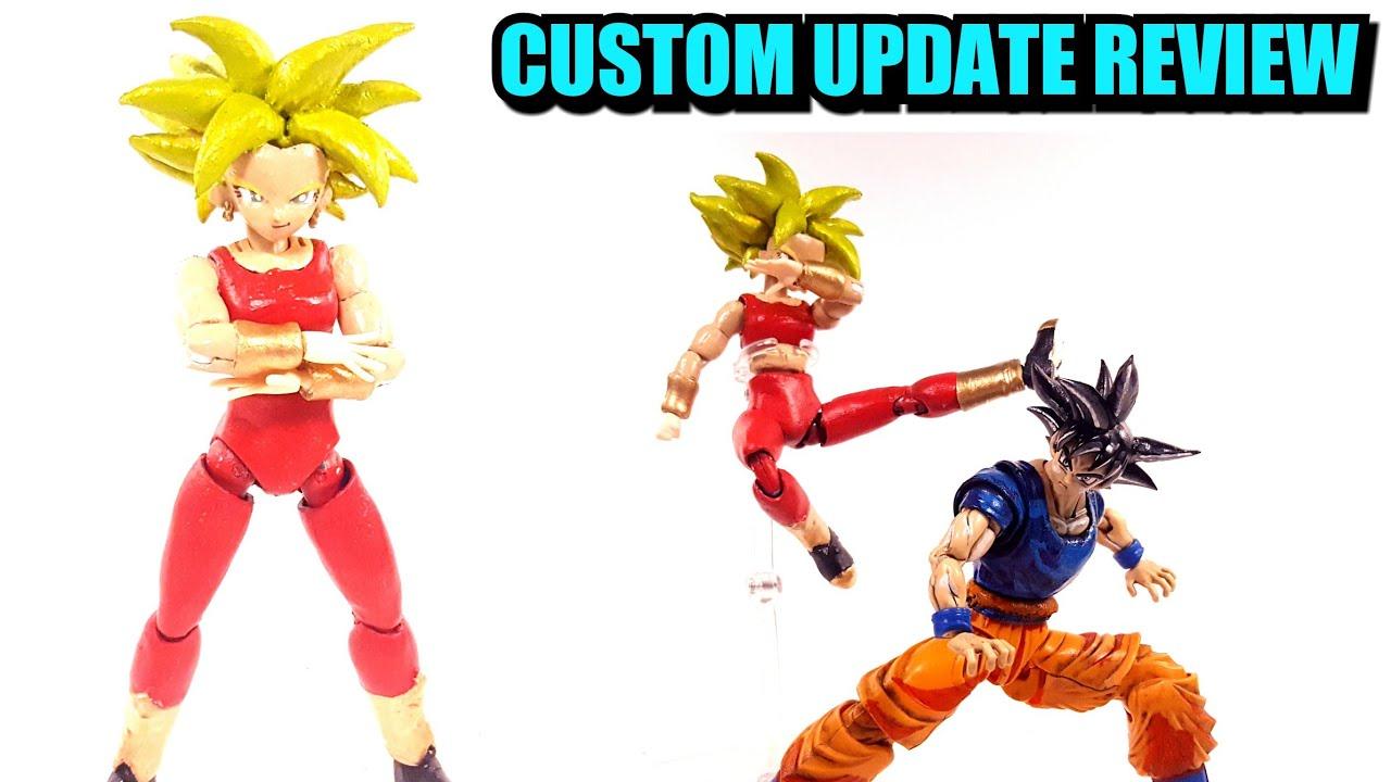 Figure Rise Standard Kefla Custom Update Review Youtube