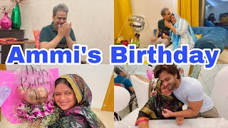 Ammi's Birthday In lockdown again| Dipika Served cake with burnt icing🙈 |Shoaib Ibrahim | vlog