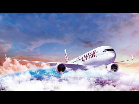 [REAL LIVE] Qatar Airways Frankfurt/Main Intl. Airport. | air-maurice.de