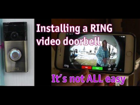 How To Install Ring Video Doorbell Pro Doovi