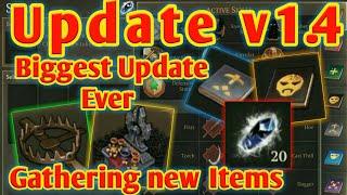 Grim Soul Dark Fantasy : 126🔥Update v1.4.0 is here🔥Altar bench🔥skills system and more🔥