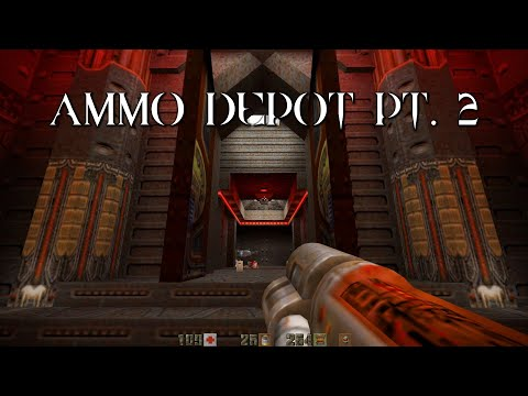 Quake II Mission Pack: Ground Zero | Ammo Depot Pt. 2 (20/21) |
