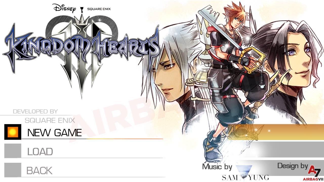 Kingdom Hearts III - Main Menu & New 'Dearly Beloved' (Concept) - YouTube