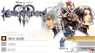 Kingdom Hearts III - Main Menu & New 'Dearly Beloved' (Concept)
