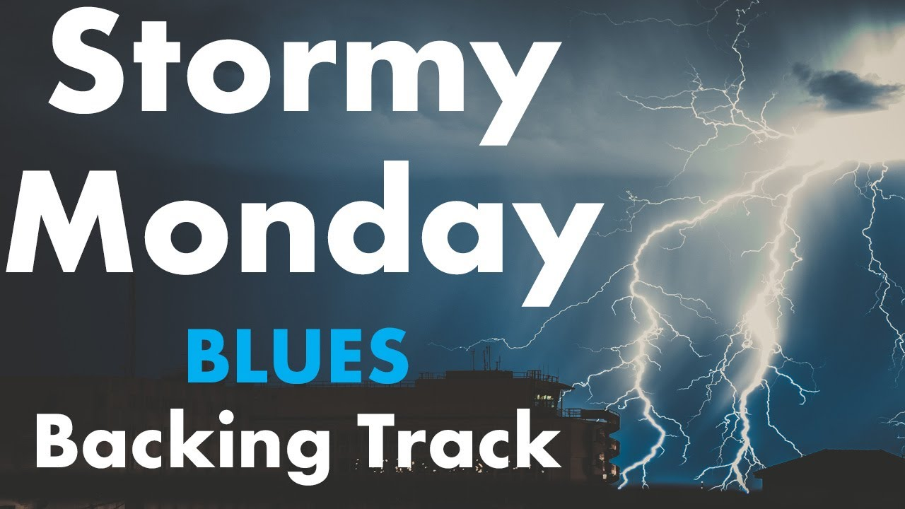 They Call It Stormy Monday Style Backing Track Youtube