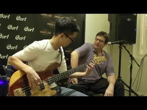 Jeff Berlin Bass Clinic Tour 2015   Presented by Cort Guitars & Swee Lee Music Academy
