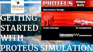 Getting Started With Proteus Simulation Software [ led blinking using 555 timer ]