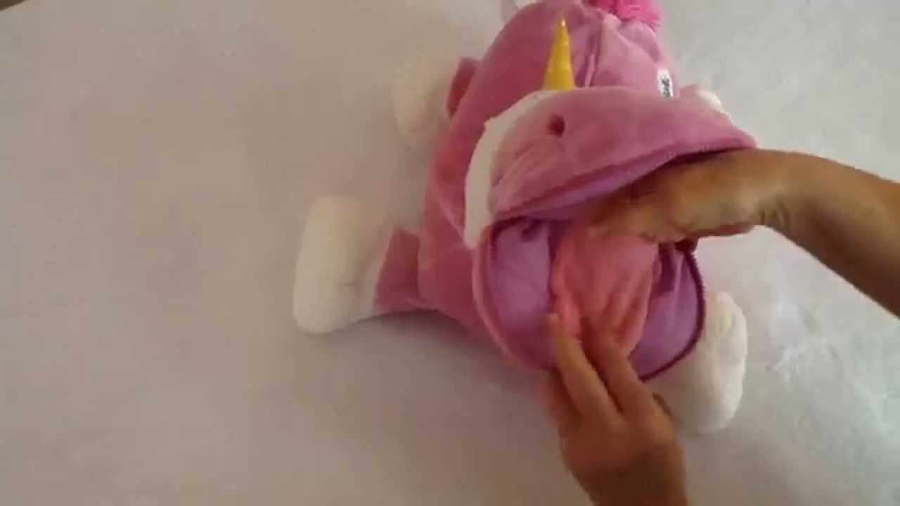 Stuffies Prancine The Unicorn Review Youtube