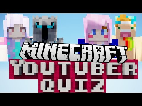 Can You Name All These Minecraft YouTubers?!