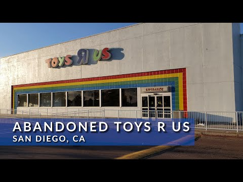 Abandoned Toys R Us With Stuff Inside San Diego, CA