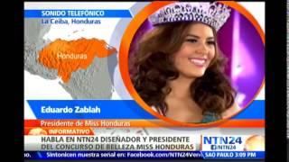 El país está consternado: Pdte. del concurso Miss Honduras sobre muerte de María José Alvarado