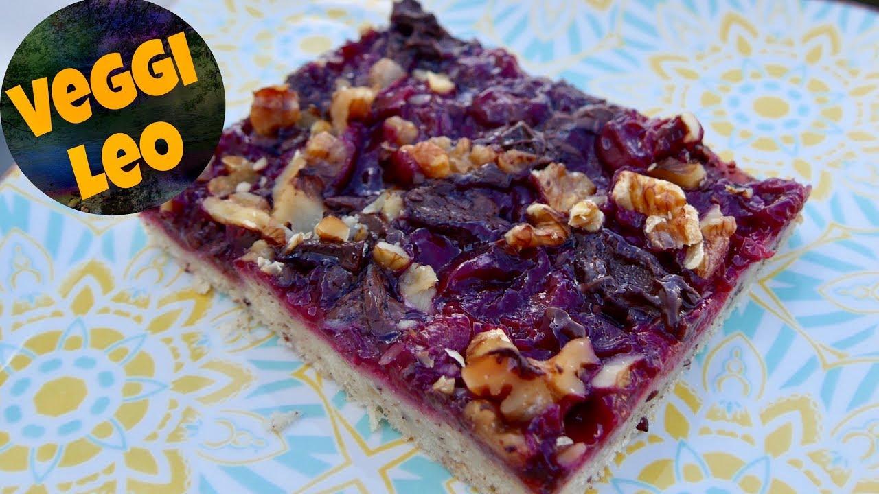 Schneller Veganer Kuchen Schoko Kirsch Youtube
