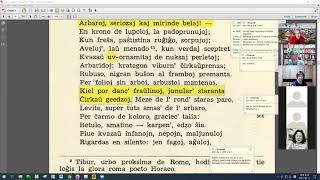 24 | Sinjoro Tadeo 3: 544-653 | Pan Tadeusz – 에스페란토 판 타데우시 3권 공부 (zoom)