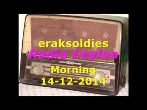 Radio Ceylon 14-12-2014~Sunday Morning~02 Purani Filmon Ka Sangeet
