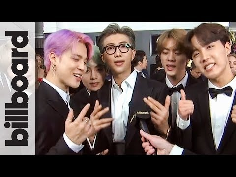 BTS Thanks ARMY for Helping them Live The Dream | Grammys