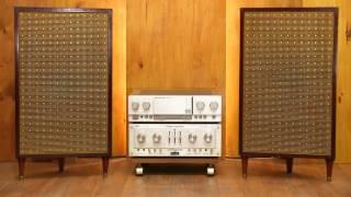 Vintage  Alnico Speaker & Marantz pm 64 , Test audio