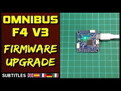 Omnibus F4 V3 - Firmware Upgrade