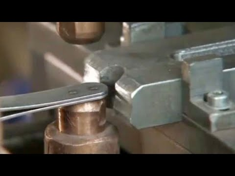 Hypnotic Production Process Iron  - Excellent  Machines Working at Factory