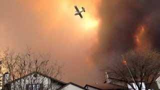 Raging wildfire in Alberta forces 80,000 to evacuate