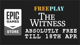 Epic Games FreePlay - The Witness