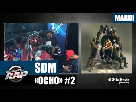 Youtube: Planète Rap – SDM«Ocho» avec Koba LaD, Timal, Green Montana, Testri, Diablo, Ziki… #Mardi