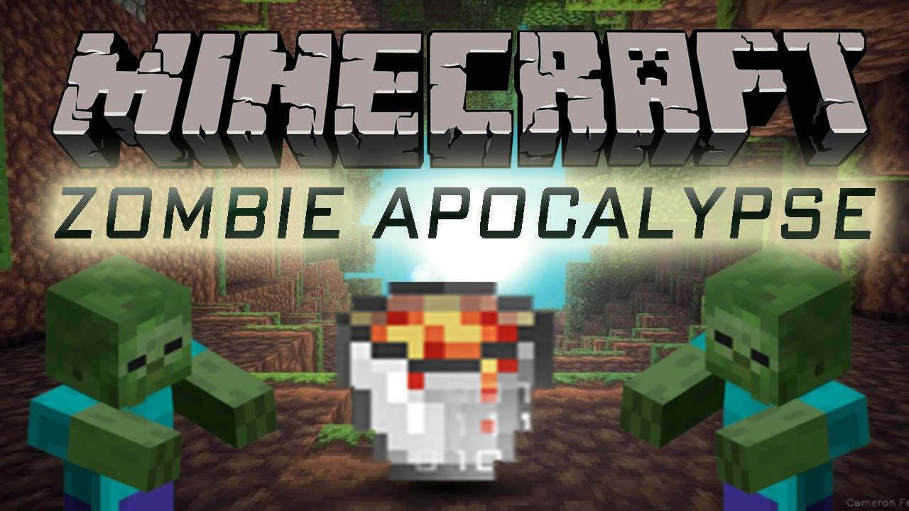 Minecraft - Zombie Apocalypse! [Plugin/Mod Showcase]