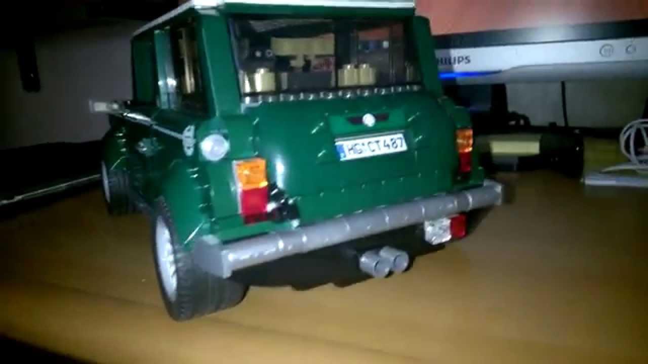 how to make a lego mini