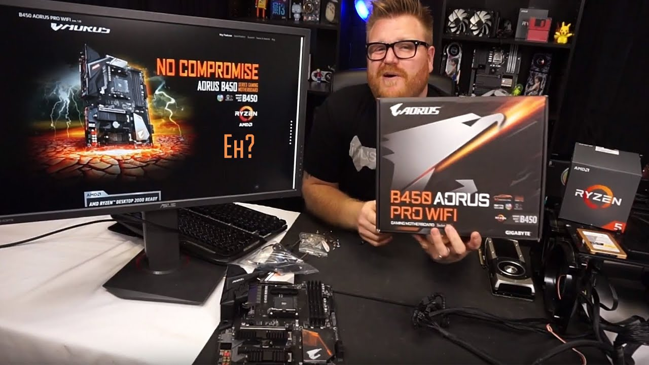 B450 Gigabyte Aorus Pro Wifi, all the bells and whistles except for one