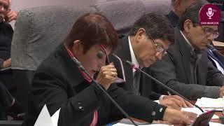 Tema: Mesa de Trabajo con el Congresista Juan Sheput - Problemática de docentes de 70 años.