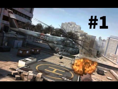 Прохождение Modern Combat 3: Fallen Nation | Часть 1 - Операция блокбастер. Горим и полыхаем!
