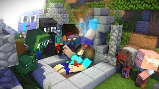 Monster School : RIP Herobrine ( Sad Love Story ) - Minecraft Animation