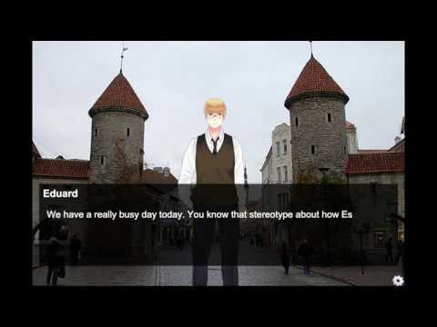 EVER WANTED TO DATE ESTONIA? Let's Play: 4 Days in Tallinn: An Estonia Dating Simulator (Part 1)