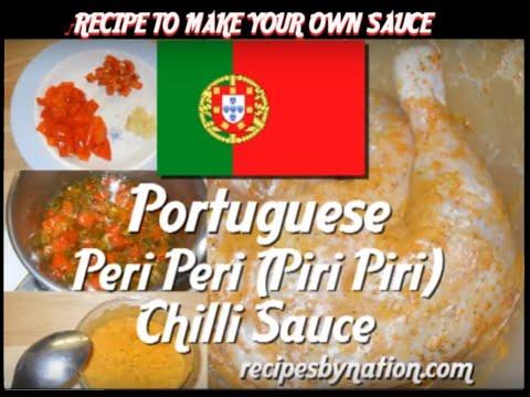 Nandos Style Peri Peri Piri Piri Chilli Sauce Recipe