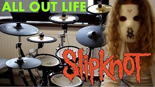 SLIPKNOT All Out Life (Drum cover/Bobnar Simon) NEW song