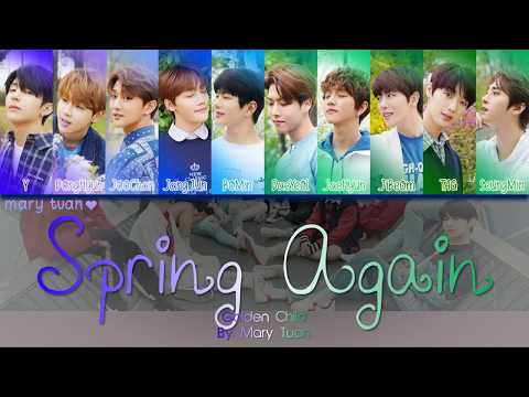 [COLOR CODED] GOLDEN CHILD - SPRING AGAIN (ENG/PT-BR SUB) Mp3