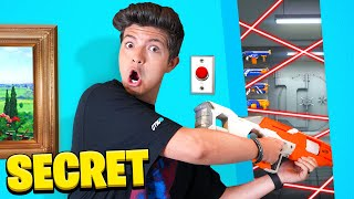 Extreme HIDE Your NERF GUN Challenge!
