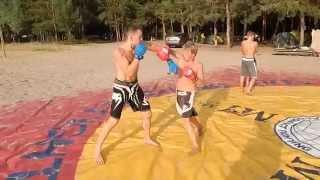 Тренировки бойцов микс файт (Mix Fight)