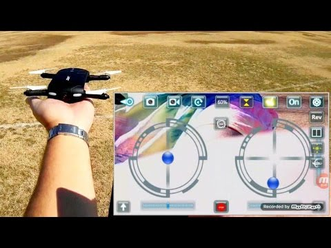 jjrc h37 elfie foldable selfie drone flight test review. Black Bedroom Furniture Sets. Home Design Ideas