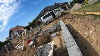 Jak murować bloczki fundamentowe ?