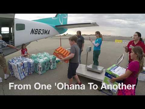 Mokulele Airlines Flies Supplies To Victims Of Hurricane Harvey