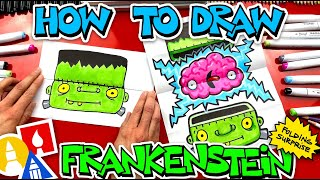 How To Draw Frankenstein Brain Folding Surprise