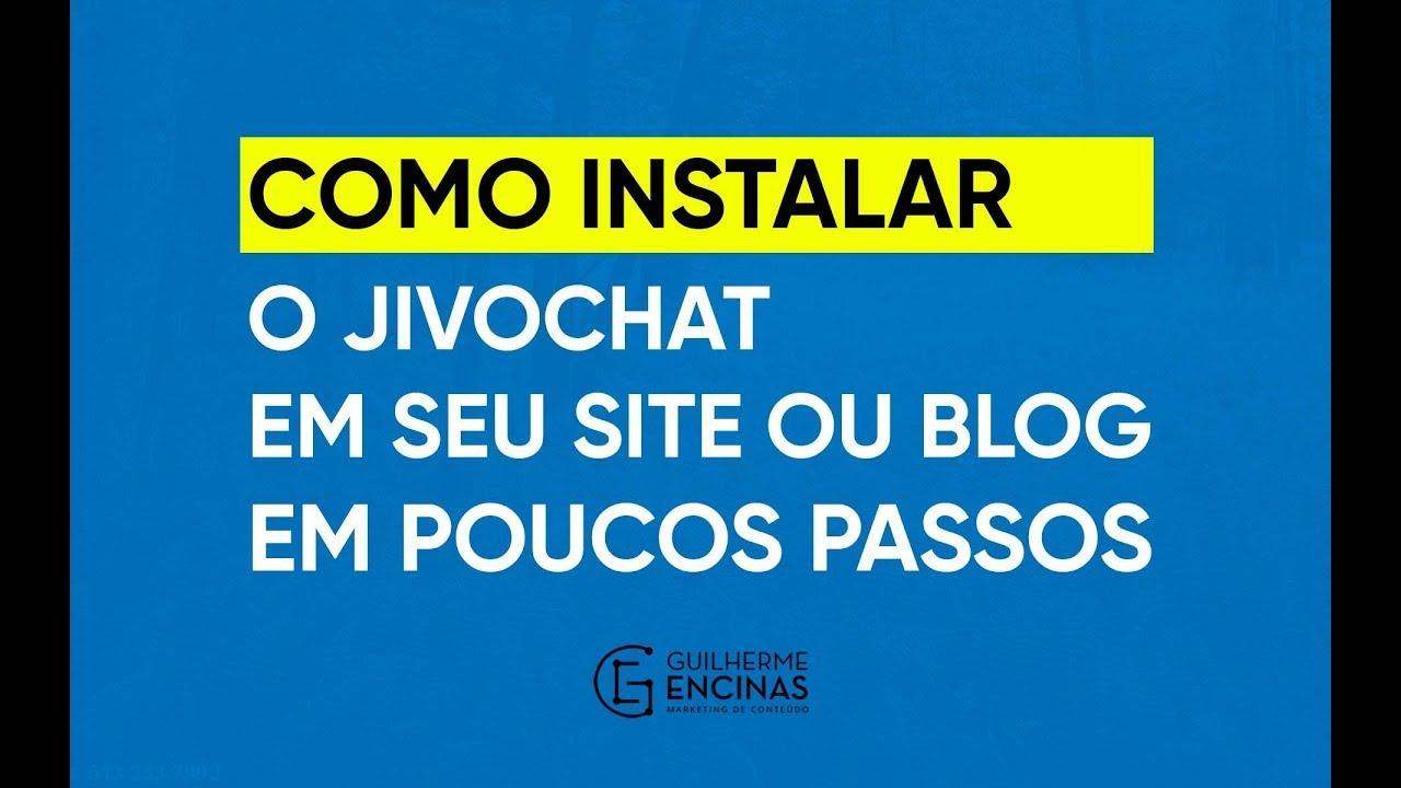 15d6361983 Como Instalar o Jivochat em seu Site ou Blog em poucos passos ...