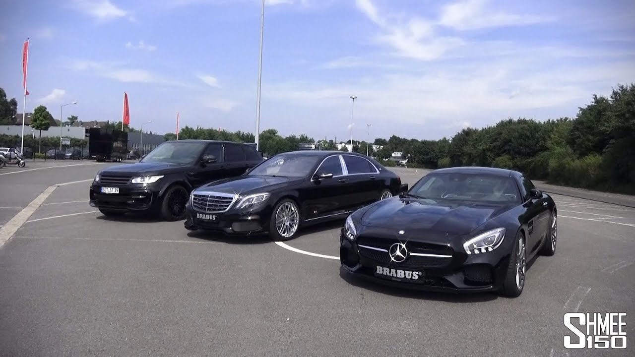 Visiting the Brabus Factory, plus AMG GT S, Maybach and RR ...