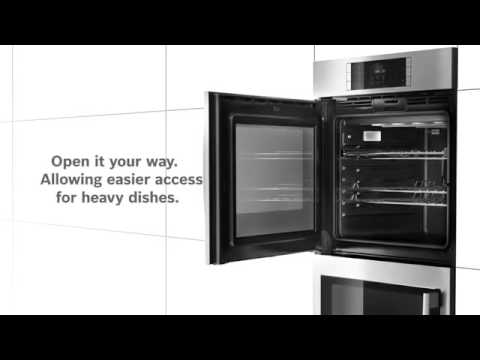 Bosch Single Wall Oven With Right Side Opening Door Hblp451ruc At Liancesconnection